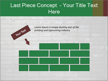Old brick wall PowerPoint Template - Slide 46