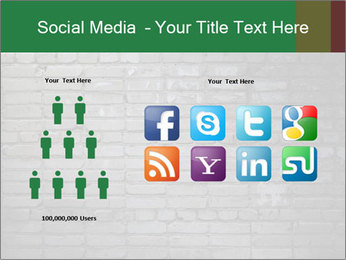 Old brick wall PowerPoint Template - Slide 5