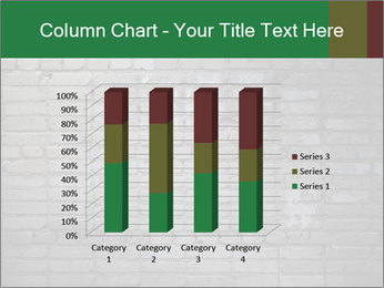 Old brick wall PowerPoint Template - Slide 50