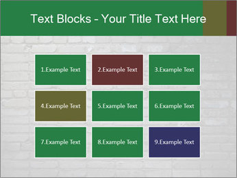 Old brick wall PowerPoint Template - Slide 68