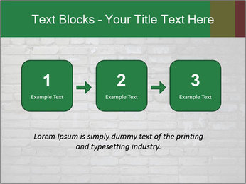 Old brick wall PowerPoint Template - Slide 71