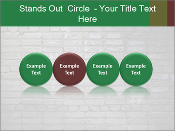 Old brick wall PowerPoint Template - Slide 76