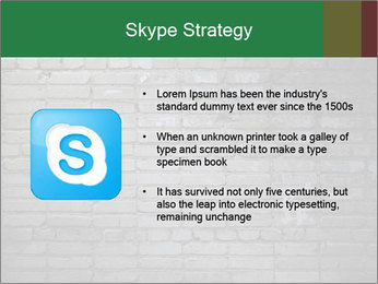 Old brick wall PowerPoint Template - Slide 8