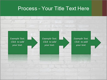 Old brick wall PowerPoint Template - Slide 88