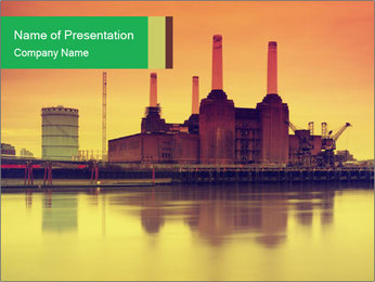Battersea Power Station PowerPoint Templates - Slide 1