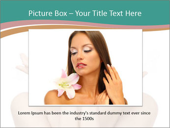 Beautiful young spa woman PowerPoint Templates - Slide 15