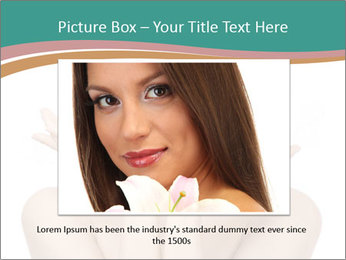 Beautiful young spa woman PowerPoint Templates - Slide 16