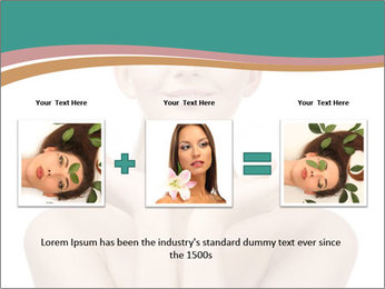 Beautiful young spa woman PowerPoint Templates - Slide 22