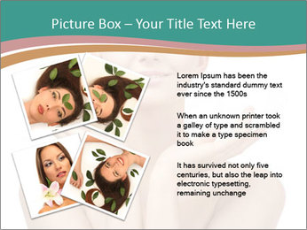 Beautiful young spa woman PowerPoint Templates - Slide 23