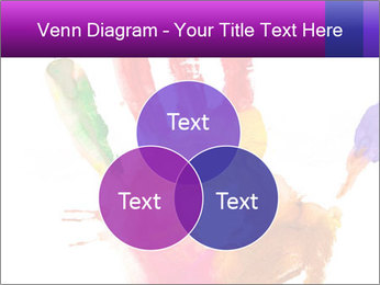 Colored hand PowerPoint Template - Slide 33