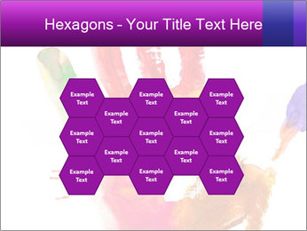 Colored hand PowerPoint Template - Slide 44