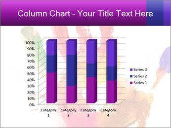 Colored hand PowerPoint Template - Slide 50