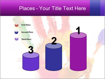 Colored hand PowerPoint Template - Slide 65