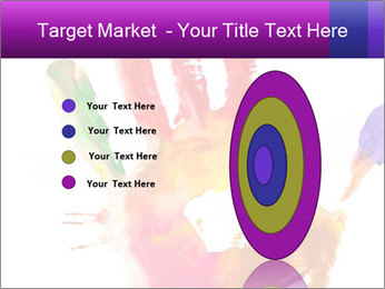 Colored hand PowerPoint Template - Slide 84