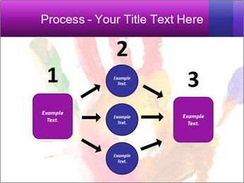 Colored hand PowerPoint Template - Slide 92