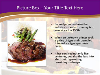 Filet mignon PowerPoint Templates - Slide 13