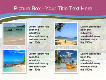 Tropical sea PowerPoint Template - Slide 14