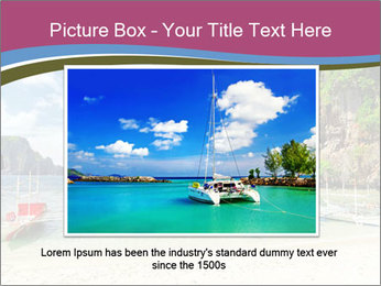 Tropical sea PowerPoint Template - Slide 16