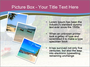Tropical sea PowerPoint Template - Slide 17