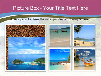 Tropical sea PowerPoint Template - Slide 19