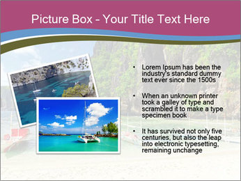 Tropical sea PowerPoint Template - Slide 20