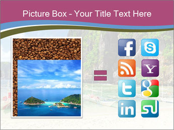 Tropical sea PowerPoint Template - Slide 21