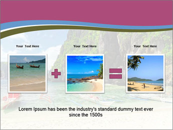 Tropical sea PowerPoint Template - Slide 22