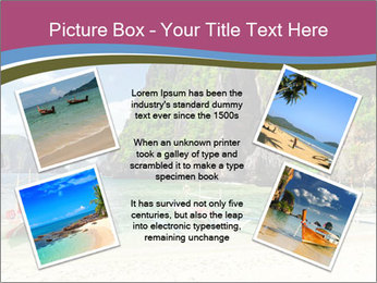 Tropical sea PowerPoint Template - Slide 24