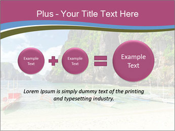 Tropical sea PowerPoint Template - Slide 75