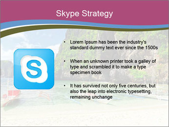 Tropical sea PowerPoint Template - Slide 8