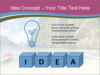 Tropical sea PowerPoint Template - Slide 80