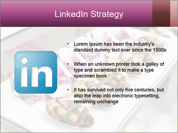 Canapes with cured ham PowerPoint Templates - Slide 12