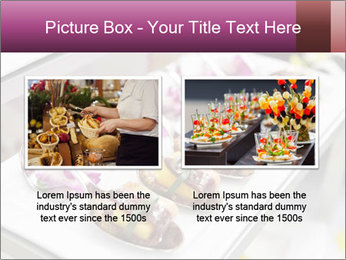 Canapes with cured ham PowerPoint Templates - Slide 18