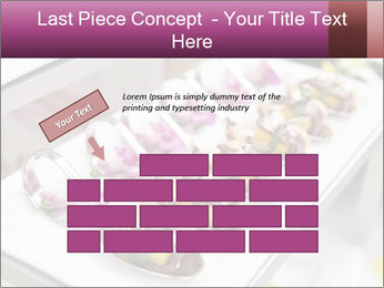 Canapes with cured ham PowerPoint Templates - Slide 46