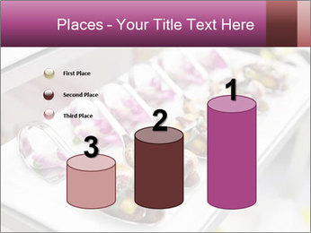 Canapes with cured ham PowerPoint Templates - Slide 65