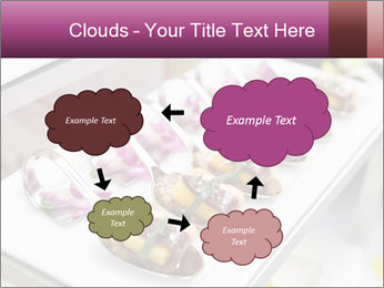 Canapes with cured ham PowerPoint Templates - Slide 72