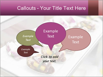 Canapes with cured ham PowerPoint Templates - Slide 73