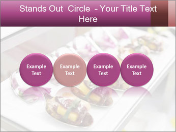 Canapes with cured ham PowerPoint Templates - Slide 76