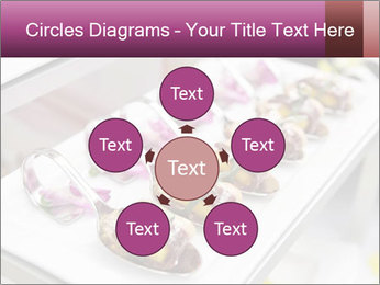 Canapes with cured ham PowerPoint Templates - Slide 78