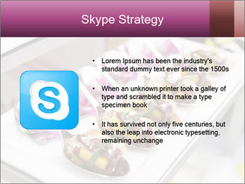 Canapes with cured ham PowerPoint Templates - Slide 8