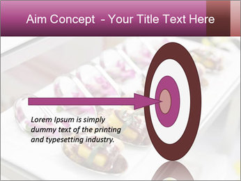 Canapes with cured ham PowerPoint Templates - Slide 83