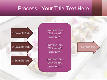 Canapes with cured ham PowerPoint Templates - Slide 85