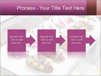 Canapes with cured ham PowerPoint Templates - Slide 88