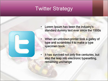 Canapes with cured ham PowerPoint Templates - Slide 9