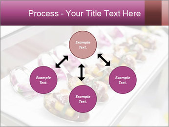 Canapes with cured ham PowerPoint Templates - Slide 91