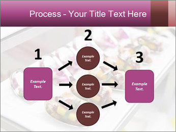 Canapes with cured ham PowerPoint Templates - Slide 92