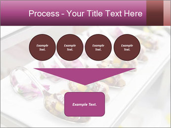 Canapes with cured ham PowerPoint Templates - Slide 93