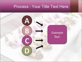 Canapes with cured ham PowerPoint Templates - Slide 94