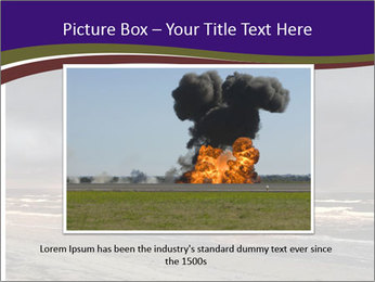Nuclear explosion PowerPoint Template - Slide 15