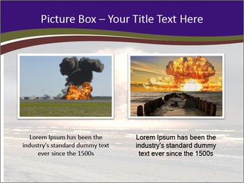 Nuclear explosion PowerPoint Template - Slide 18